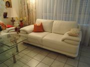 Ledercouch / -sofa, WIE