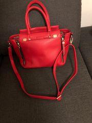 Damenhandtasche rot