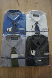 Secolo Langarm Hemden 4 Stück
