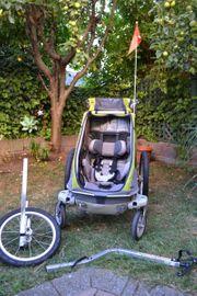 Fahrradanhänger- Jogger - Chariot Cougar 1