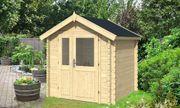 Kleines robute Gerätehaus aus Holz