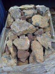 Antike Muschelkalk Mauersteine