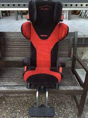Recaro Proracer Kindersitz schwarz-rot 10-35