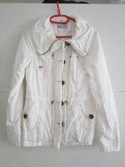 Sommerjacke Weiß