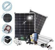 NEU 200W Solarpaket inkl Aufbau