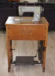 Antike Nähmaschine, Pfaff -