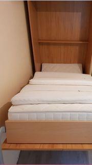 Schrankbett mit Matratze 2J alt