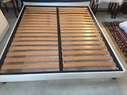 ALCIONE Doppelbett abziehbarer Bezugsstoff Polsterbett