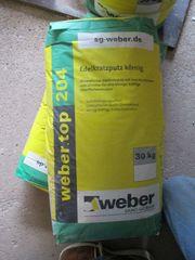 2x 30 kg Edelkratzputz Weber