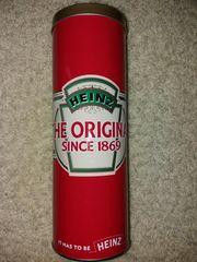 Rote schöne Blechdose Heinz Ketchup