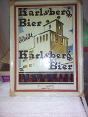 Altes Werbeschild/Blech