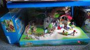 Playmobil Zoo im Schaukasten