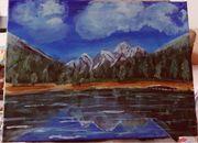 Gemälde Pragser Wildsee