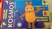 KOSMOS Experimente mit der Maus
