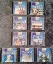 9 CD S der Serie