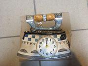 Bemalte Küchenuhr / Uhr