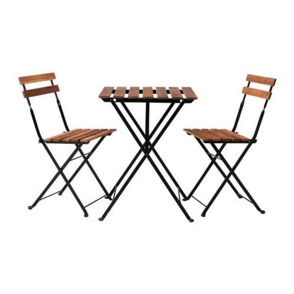 Ikea Tarno Set Gartenmobel 1 Tisch Und 4 Stuhle Alles Klappbar In