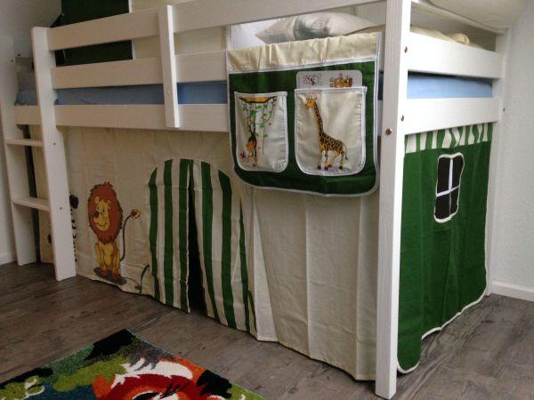 Ticaa Etagenbett Vorhang : Hochbett mit matratze cheap etagenbett kate