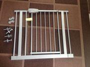 Treppenschutzgitter mit Tür,