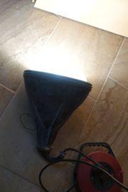 Bauleuchte Strahler Lampe gummiert Baustellenlampe