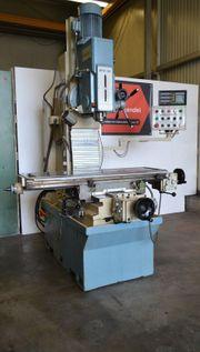 Bohr Fräsmaschine Universalfräsmaschine Bettfräsmaschine