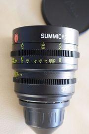 LEICA SUMMICRON-C 50mm lens PL