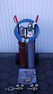 Autogenschweißgerät 10 Liter komplett mit
