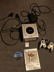 Nintendo GameCube Platin Silber mit