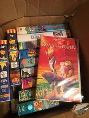 Disney- Video- Kassetten 20 Stück