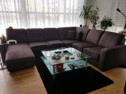 Wohnlandschaft Federkern Sofa