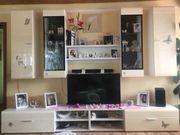 Wohnzimmer Wohnwand mit