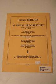 Gérard Berlioz 30 Pièces Progressives