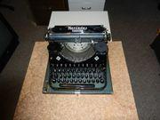 Mercedes Superba Schreibmaschine mit neuem