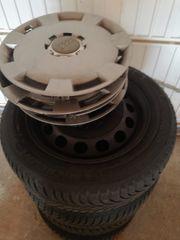 4 Michelin Winterreifen 205 55