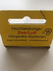 Zink-Luft Batterien