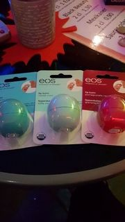3 Lippenbalsam EOS