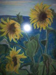 Rarität Original Pastell Aquarell Radierung
