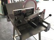 Bizerba Aufschnitt Vollautomatische Aufschnittmaschine A404