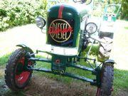 Eicher-Traktor Oldtimer