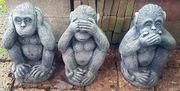 Drei Affen aus
