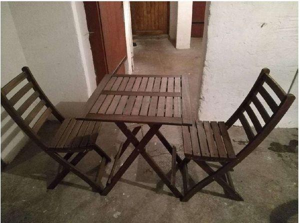Gartentisch Mit 2 Stuhlen In Stuttgart Gartenmobel Kaufen Und