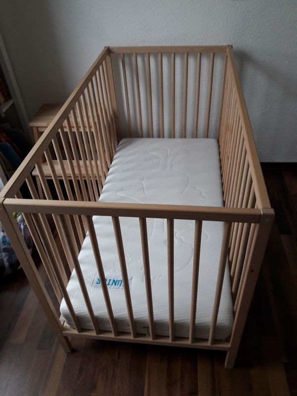 Baby Bett Ikea Mit Matratze Von Orthomartra Junior Duo In Sersheim