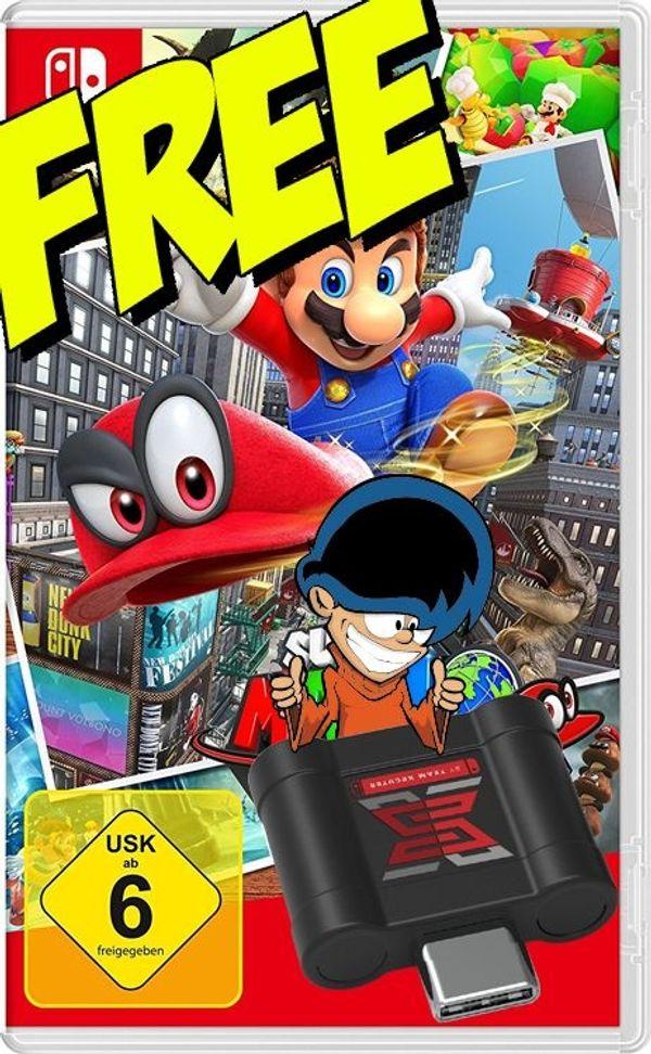-= Super Mario Odyssey - Nintendo Switch - Gratis Download =- - Elmshorn - Du willst Nintendo Switch Spiele von deiner MicroSD Karte spielen for Free ?Mit dem SX Pro ist das kein Problem !Biete alle Nintendo Switch Spiele kostenlos zum Download an !Alles weitere per eMail. - Elmshorn