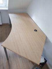 Schreibtisch in Holzoptik