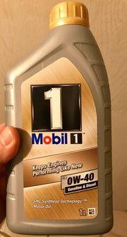8 Liter Motoröl Mobil 1