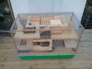 Selbstgebauter Hamsterkäfig LxBxH 97x52x68cm