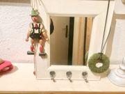 Shabby Spiegel mit 3 Aufhängehaken