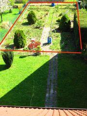 Gartengrundstück im Hinterhof