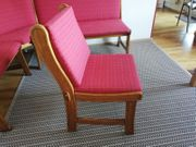 Eckbank und 2 Stühle zu