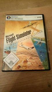 Microsoft Flightsimulator Professionell Edition Flugsimulator